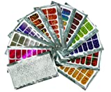 Micro Trader 12 Different Trendy Nail Wraps / Foils Set