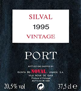 1995 Quinta do Noval Silval, Vintage Port 375 mL