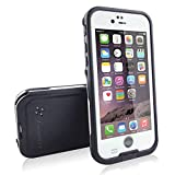 Toughsty iPhone6 plus 防水ケース 防塵耐衝撃ケース 防水ジャケット 水深2M防水 小売用パッケージ (ホワイト) [並行輸入品]