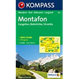 Alpenpark Montafon: 1:25.000. Gargellen, Bielerhhe, Silvretta. Wandern / Rad / Skitouren / Langlauf. GPS-genau