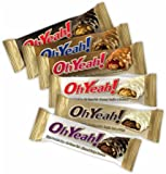 Iss Oh Yeah! Peanut Butter & Caramel Bars, 1.59 oz, 12 ct