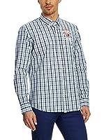 Galvanni Camisa Hombre Feradin (Azul / Blanco)