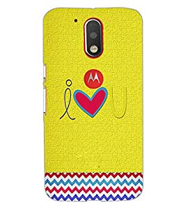 PrintDhaba Quote D-3921 Back Case Cover for MOTOROLA MOTO G4 PLUS (Multi-Coloured)