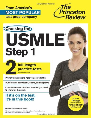 Cracking the USMLE Step 1, with 2 Practice Tests (Professional Test Preparation)