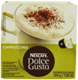 Nescafé Dolce Gusto for Nescafé Dolce Gusto Brewers, Cappuccino, 16 Count (Pack of 3)