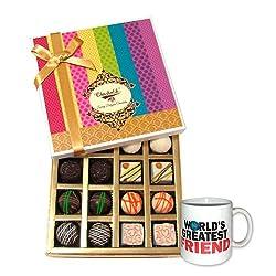 Heavenly Treat With Friendship Mug - Chocholik Belgium Chocolates