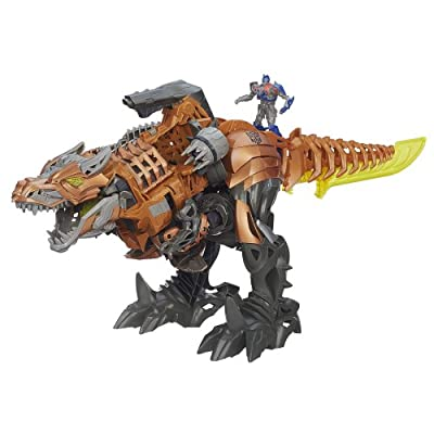 Transformers Age of Extinction Stomp and Chomp Grimlock Figure from Transformers