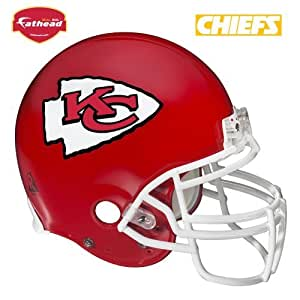 .com : Kansas City Chiefs Casco Tatuajes de pared : Sports & Outdoors