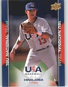 Buy 2009-10 Upper Deck USA Baseball Card # USA-50???? ??C.J. Hinojosa Rookie Prospect Team USA - 16U... by Upper Deck
