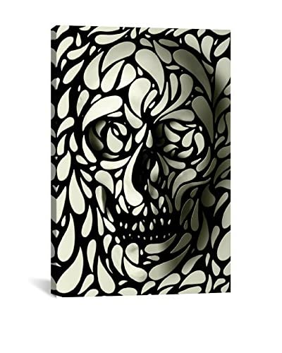 Skull #4 Gallery-Wrapped Canvas Print