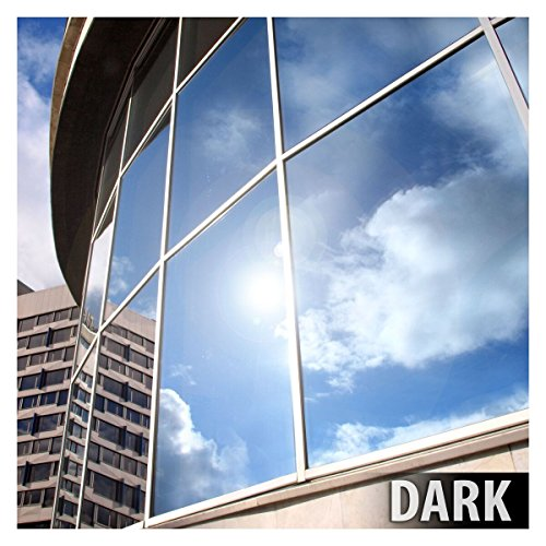 BDF EXS15 EXTERIOR Window Film Privacy and Sun Control Silver 15, Dark - 12in X 14ft (Mirror Tint For Windows compare prices)