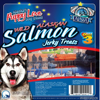 WILD SALMON JERKY TREATS