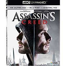 Assassin's Creed [4K Ultra HD + Blu-ray]