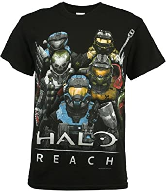 Halo: Reach Group Pose Men's T-Shirt, XX-Large