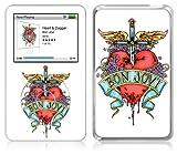Music Skins iPod Classic用フィルム  Bon Jovi - Heart & Dagger  iPod Classic   MSRKIPC00214