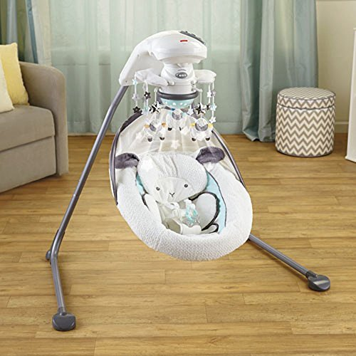 Fisher Price Platinum Cradle Swing - My Little Lamb (Fisher Price My Little Lamb compare prices)