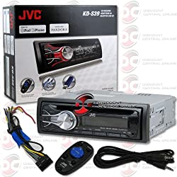 See 2013 Brand New JVC 1DIN WMA MP3 CD Player with Aux-IN USB iPod iPhone Control Wireless Remote &