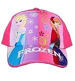 Frozen Elsa and Anna Girls Baseball Cap Hat