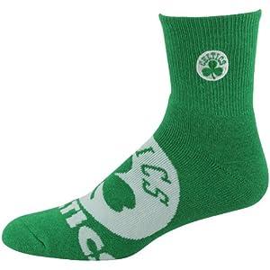 NBA Boston Celtics Big Logo Sock - Kelly Green by For Bare Feet