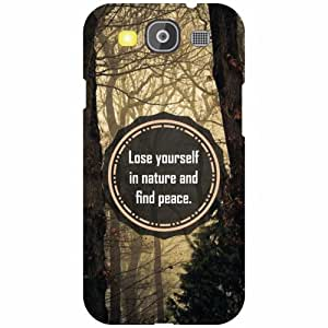 Printland Love Yourself Phone Cover For Samsung Galaxy S3 Neo