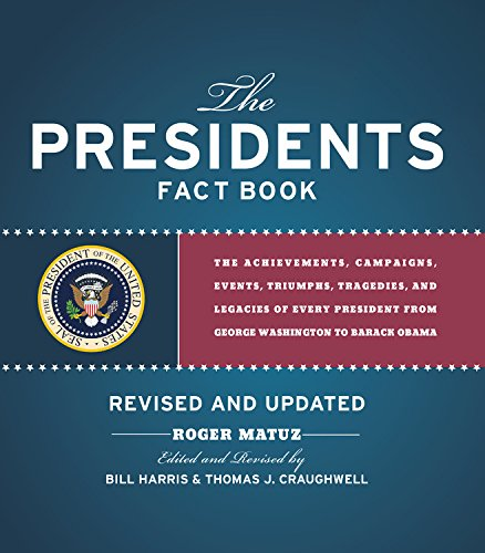 Presidents Fact Book Revised and Updated!: The Achievements, Campaigns, Events, Triumphs, and Legacies of Every Presiden
