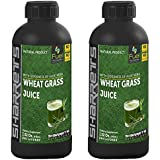 Sharrets Nutritions Wheat Grass Juice (PACK OF 2)
