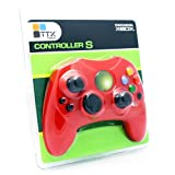 Original Xbox S Type Controller Red Limited Edition Red Color