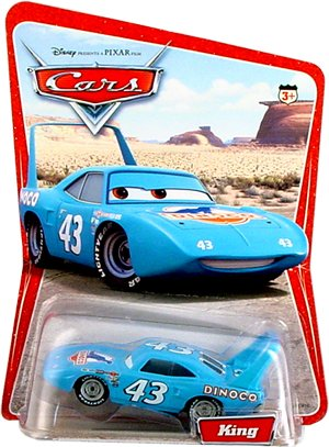 Disney Pixar Cars Series 1 Original King 1:55 Scale Die Cast Car - 1