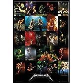 メタリカ METALLICA live 2012ポスター フレームセット [おもちゃ&ホビー]
