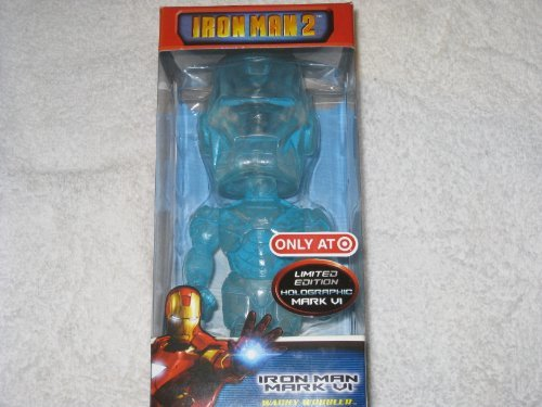 Picture of Funko Iron Man 2 Holographic Mark VI Limited Edition Figure (B003B0J0V6) (Iron Man Action Figures)