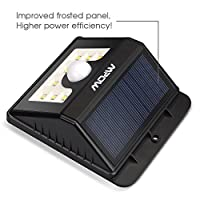 Mpow 30 LED Solar Lights, IP65 Waterproof Motion Sensor Lights with 3 Lighting Modes by Mpow