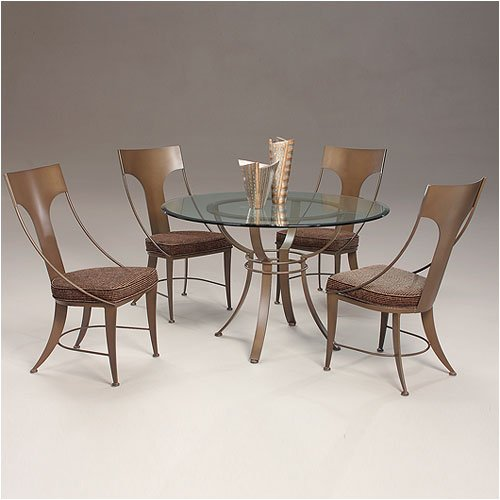 Capri Contemporary Dining Set