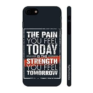 Enthopia Designer Hardshell Case Pain Gives Strength 2 Back Cover for Apple Iphone 7