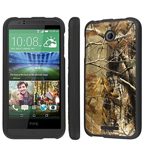 NakedShield HTC Desire 510 Hunter Camouflage Total Hard Armor LifeStyle Phone Case