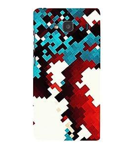 ABSTRACT CHECK PATTERN 3D Hard Polycarbonate Designer Back Case Cover for Xiaomi Redmi 2S :: Xiaomi Redmi 2 :: Xiaomi Redmi 2 Prime