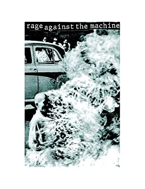 Burning Monk Rage Against the Machine Poster PICTURE - 24x36