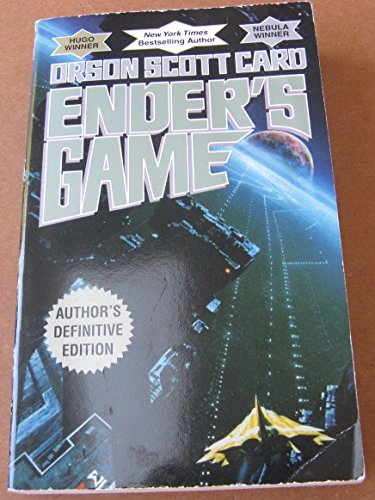 Ender'S Game: Author'S Definitive Edition By Orson Scott Card - Paperback - New York Times Bestseller!