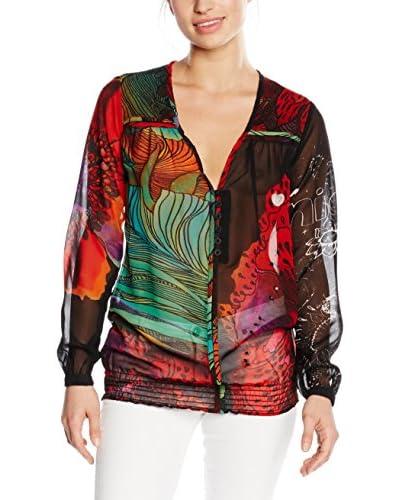 Desigual Blusa [Nero/Multicolore]