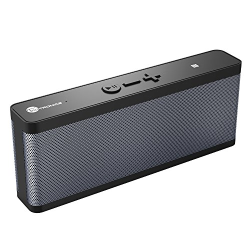TaoTronics-Altoparlante-Bluetooth-Impermeabile-Speaker-Wireless-IPX4-6W-Dual-Stereo-Bluetooth-40-EDR-NFC-10-Ore-di-Riproduzione-per-iPhone-e-Smartphone-Android-e-Tablet-PC-ecc