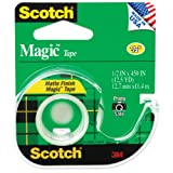 Scotch Magic Tape Matte - .5&quot;X450&quot;