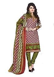Balaji Fashion Women's cottan print suit D.NO2212_Multi-Coloured
