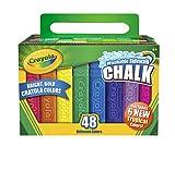 Crayola 48ct Sidewalk chalk - tizas (Multi, Plaza, Ni�o, Ni�o/ni�a, Caja, Papel)