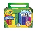 Crayola 48 Count Sidewalk Chalk (51-2...