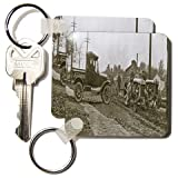 Scenes from the Past Archive Collection - 1920s Ford Service Truck and Tractors - Key Chains