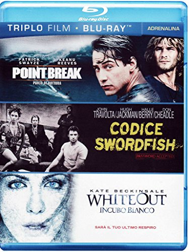 Point break - Punto di rottura + Codice swordfish + Whiteout - Incubo bianco [Blu-ray] [IT Import]