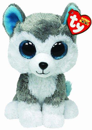 Ty Beanie Boss Slush - peluche de perro Husky