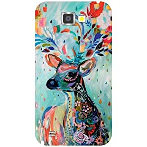 Samsung Galaxy Note 2 N7100 Phone Cover -Animal Print Matte Finish Phone Cover
