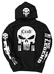 American Sniper Craft Logo Hoodie, XL Black