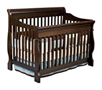 Big Sale Delta Canton 4-in-1 Convertible Crib, Espresso Cherry
