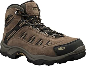 Hi-Tec Men's Bandera Mid WP Hiking Boot,Bone/Brown/Mustard,7.5 M US